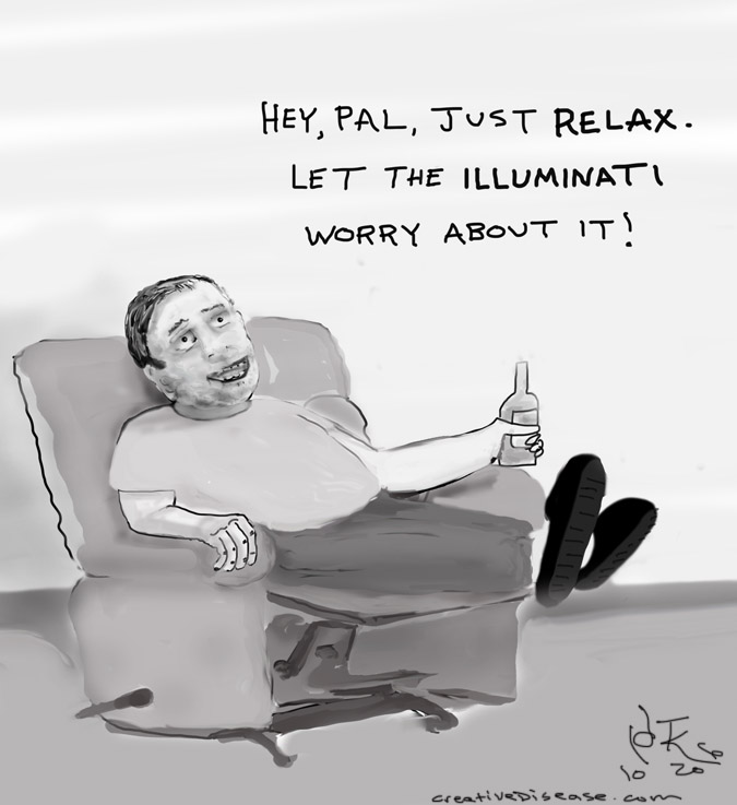 illuminati comic cartoon
