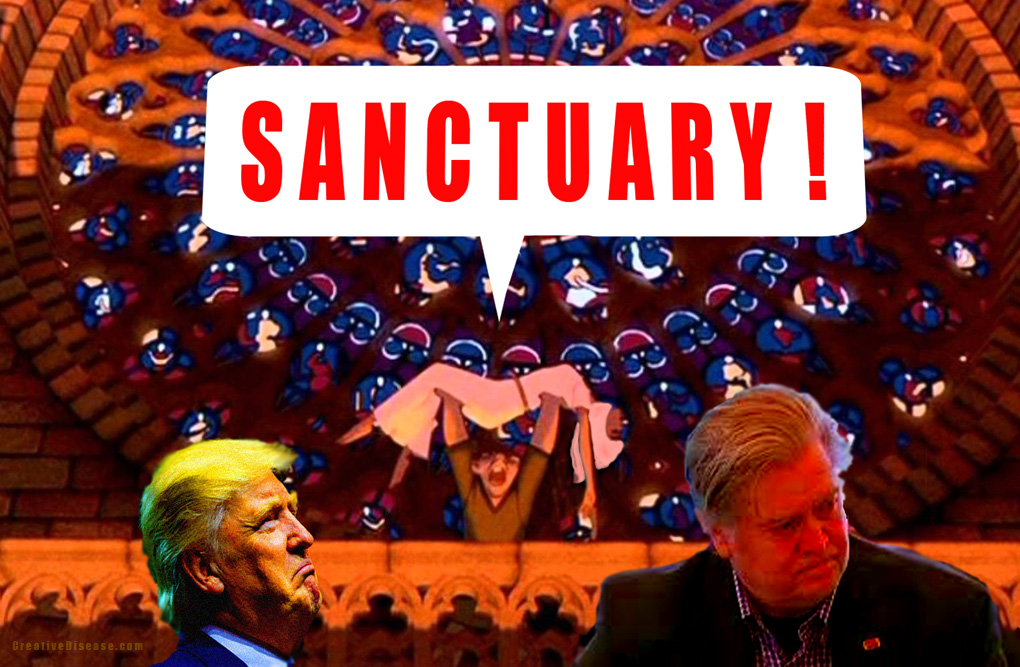 trump sanctuary comic