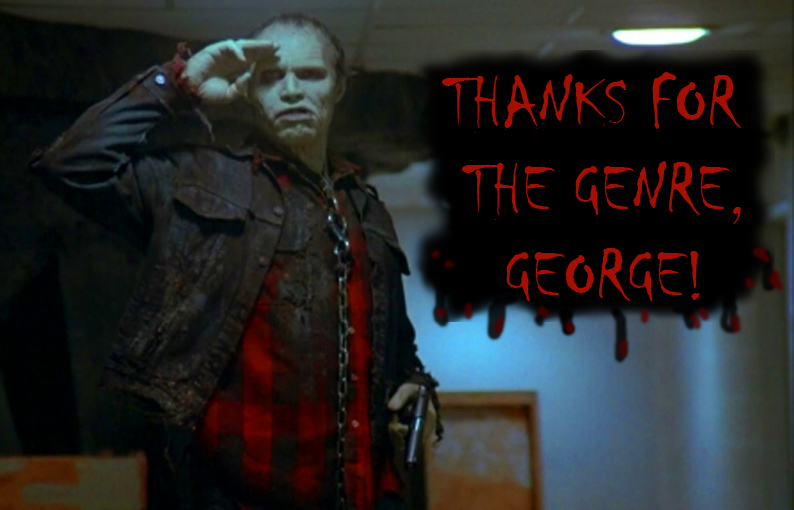 george romero tribute meme