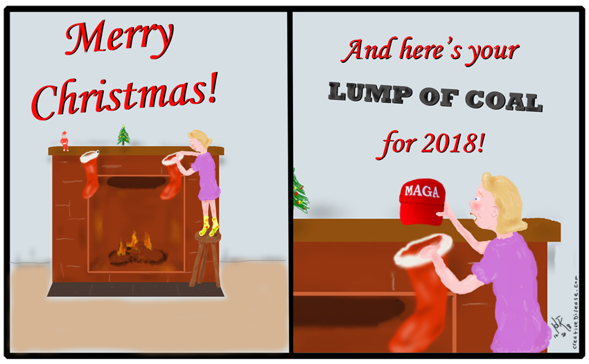 maga christmas comic