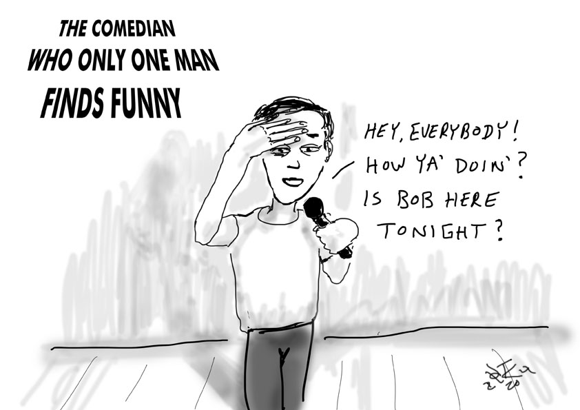 comedian cartoon