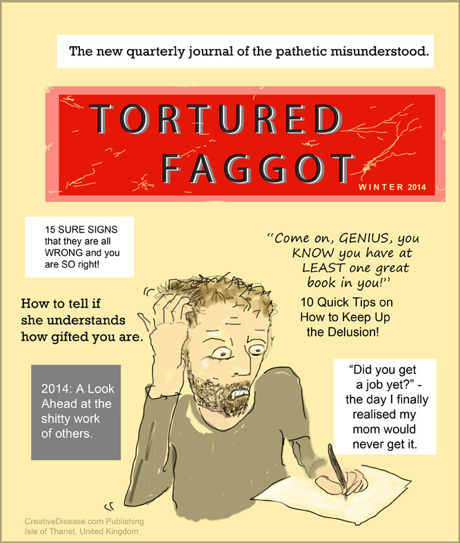 tortured artist cartoon